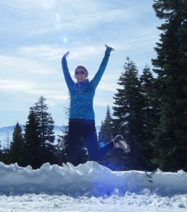 Cross-country skiing in Tahoe